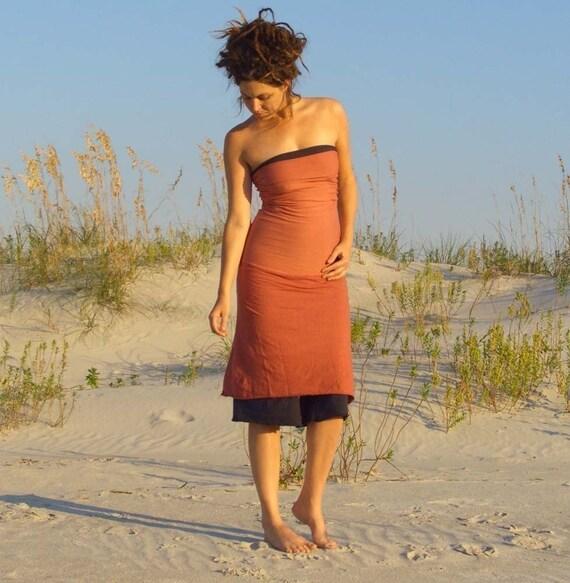 The Love me 2 times Short Skirt\/Dress (organic hemp\/cotton blend)