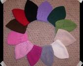 BUBBLE GUM PINK Crochet Knit Hat Toddler Beanie