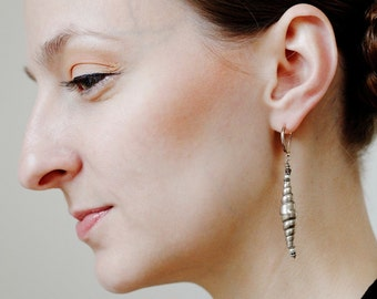 Classical Hill tribe silver earrings
