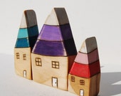 Three Wee Wooden Houses