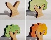 Four Seasons Tree Set four pieces