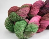 the usual PIGGED OUT LTD EDITION superwash merino sock yarn