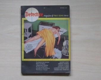 1951 DETECTIVE MAGAZINE Vol. 1 No. 1