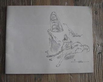 1981 Illustrated Wawaw by Ginger Dunlap