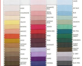 Polyester Lining 60 wide 1 yard  choice of color