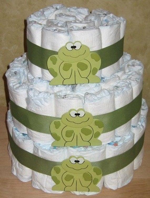 Instructions Make Baby Shower Diaper Cake