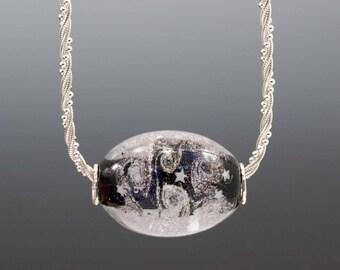 Oblong Large Focal -- Glass Memorial Bead
