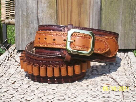 Ranger style cartridge belt  (gun belt)
