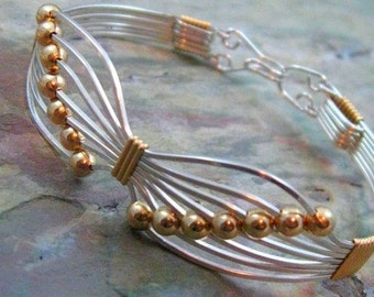 JEWELRY TUTORIAL - Butterfly Wire Wrapped Bracelet, Learn How To, Jewelry Patterns, Learn To Wire Wrap, Bracelet Tutorial - Instant Download