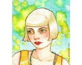 There was Magic Then -- ACEO Limited Edition Print by Amy Abshier Reyes 5/30
