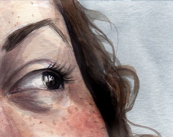 Far Far Away -- ACEO Limited Edition Print by Amy Abshier Reyes 35/50