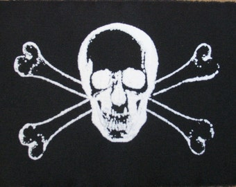 skull and crossbones patch
