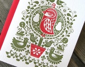 Reserved for ankajo22 - 5 packs of Partridge in a Pear Tree cards