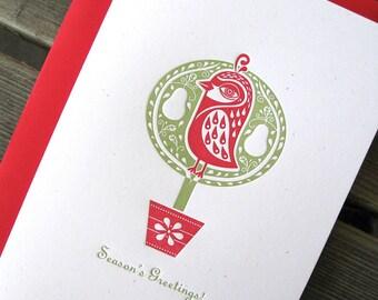 Partridge Cards 5x7 - Set of six