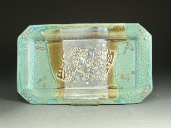 Rectangular serving tray for Long rectangular candle tray