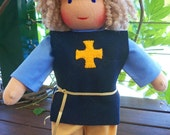 13.5inch KNIGHT Waldorf Doll steiner boy dolls