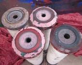 Vintage Industrial Spools - Lot A - SALE