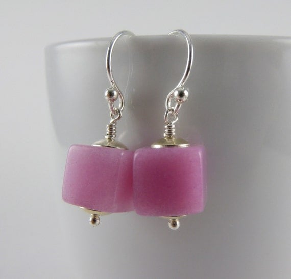 Soft Blush Earrings with Free Shipping