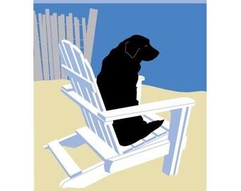 Sea Dog Print