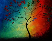 Abstract Landscape Print - The Promise Tree - by Jaime Best