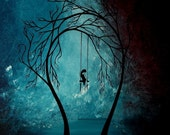 Modern Fantasy Art Print - Heartache and Poetry 21 by Jaime Best