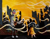 Apocalypse Robot Print  - 8X10 Fine Art Print by Mike Best - We gotta get out of this place