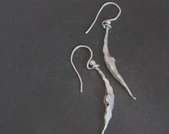 Single Bean Earrings