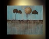 THE LAST BALLOON ----------- LARGE Original Acrylic Painting
