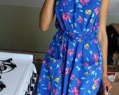 1980's Beach Party Dress