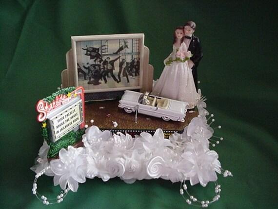 Elvis Presley Jailhouse Rock Cake Topper