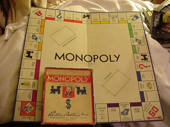 Old Monopoly Game | eBay