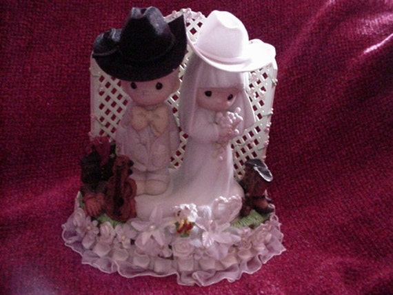 precious moments rustic wedding cake topper unavailable listing on etsy 18713
