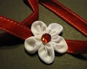 Toggle Headband with Flower hair clip