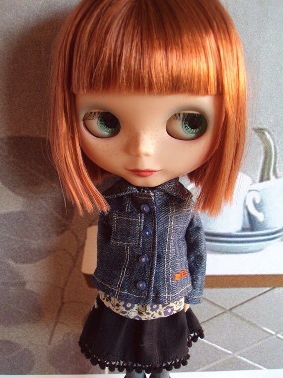 Denim Jacket for Blythe