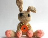 Amigurumi Light Brown Voodoo Bunny
