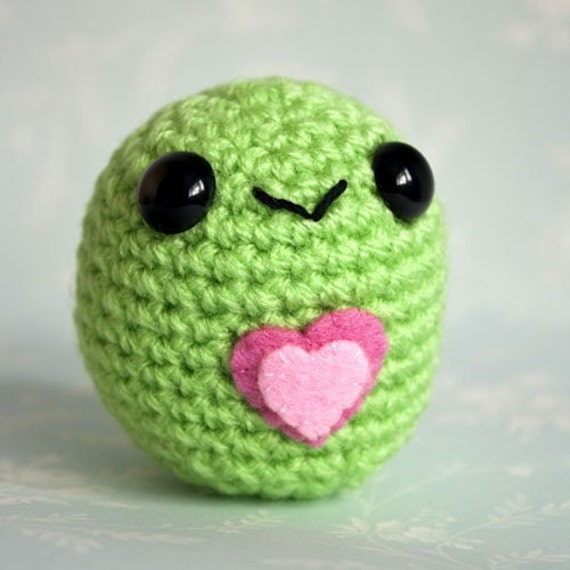 Amigurumi Green Love Blobite