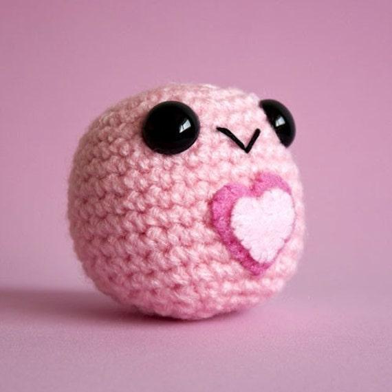 Amigurumi Light Pink Love Blobite