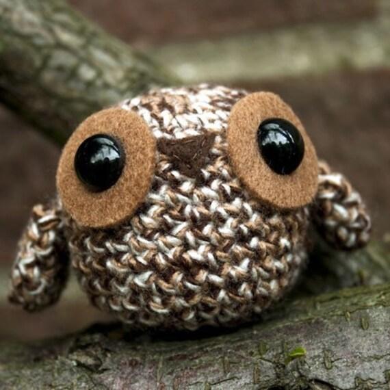 Amigurumi Owl Beak : Amigurumi Brown Owl