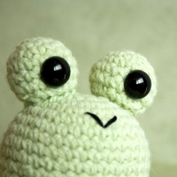 Kawaii Frog Amigurumi : Amigurumi Kawaii Green Frog