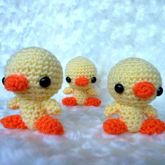 Amigurumi Little Chicks
