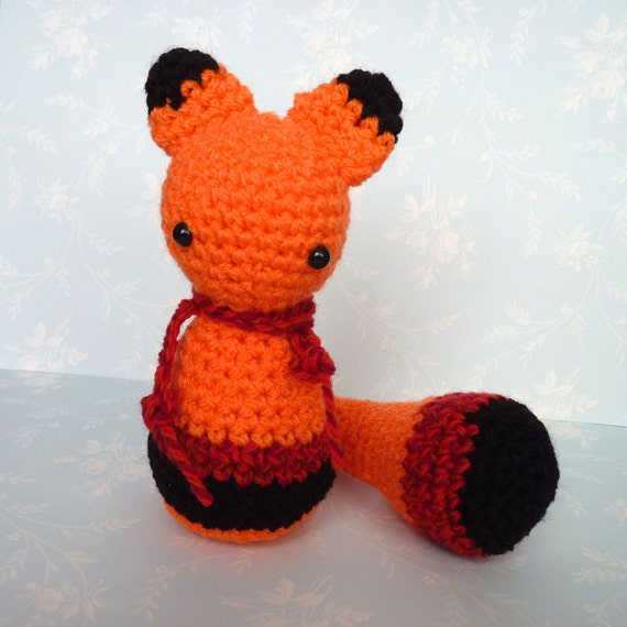 Amigurumi Orange Forest Feline