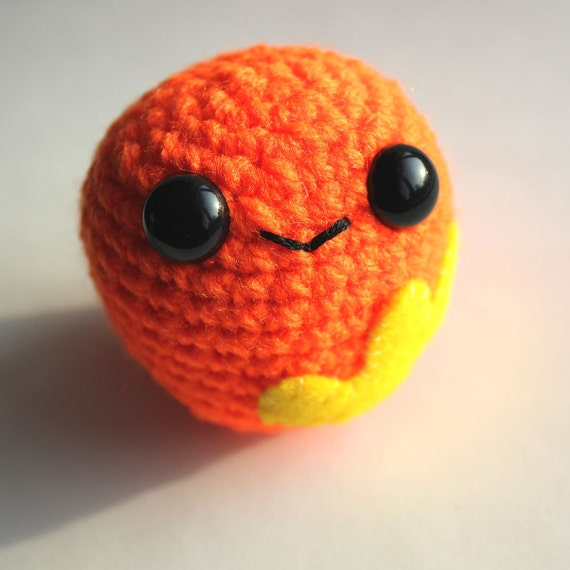 Amigurumi Orange Blobite