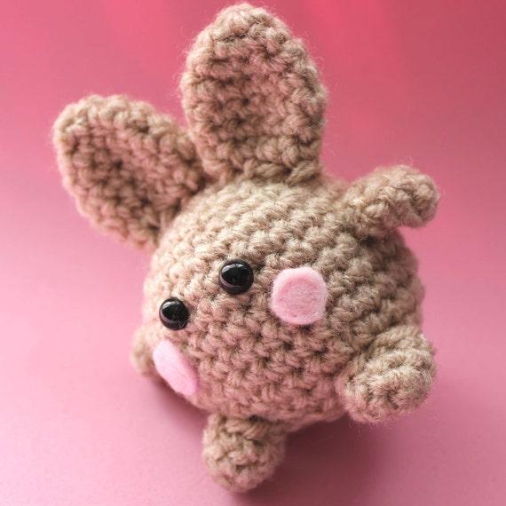 Amigurumi Little Brown Bunny