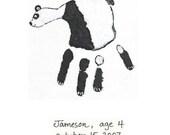 Panda Art Piece Kit (Hand)
