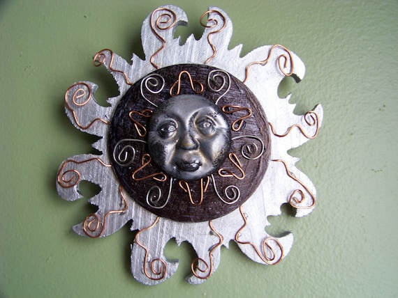 Stare at the beauty of the Sun - whimsy  wall art - Sale