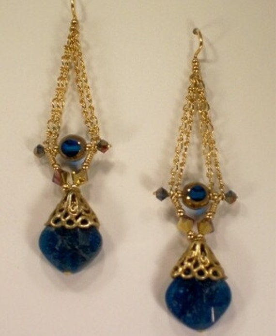 Evergreen Apatite Earrings
