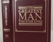 Hollow Book Greatest Man Who Ever Lived Keepsake Box from Book Cover Best Man Fathers Day New Dad Valentines Day