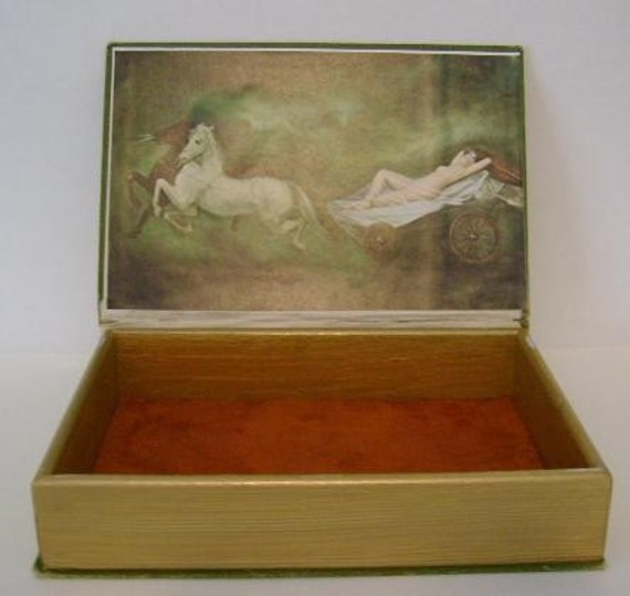 Ben Blair - The Cowboy's Dream -  Keepsake Box from Vintage Book Cover -