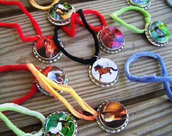 Real Photo Horse Pony Party Favor Stretchy Bracelet Great for Boys 12pk