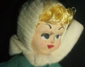 Vintage Japan Ski Girl Doll